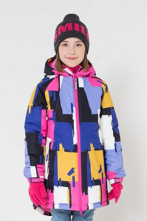 38038/2 пальто/яркие краски, сиреневый