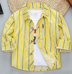 Рубашка для мальчика р.122