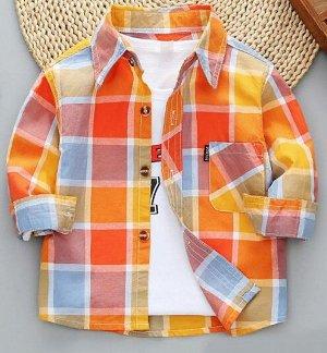 детская рубашка 110 рост