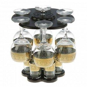 Мини-бар 12 предметов вино, флоренция, темный 240/50 мл