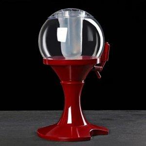 """Башня пивная 3 л """"Сфера"""", цвет красный"""
