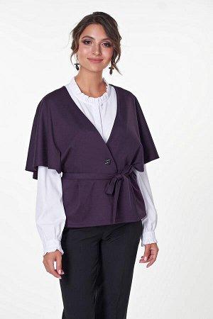 Жакет Азалия №2.Цвет:темно-фиолетовый