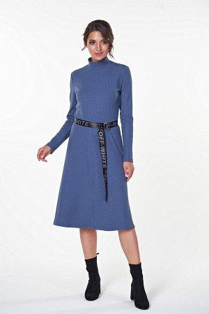 Платье Ариэль №4 .Цвет:индиго