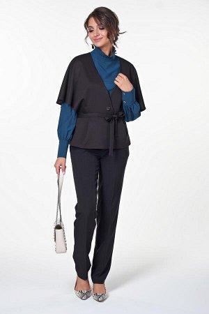 Жакет Азалия №1.Цвет:черный