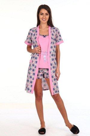 Комплект с халатом Alfonzo Цвет: Розовый. Производитель: Новое Кимоно