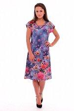 Платье женское 4-44а (джинс-1)