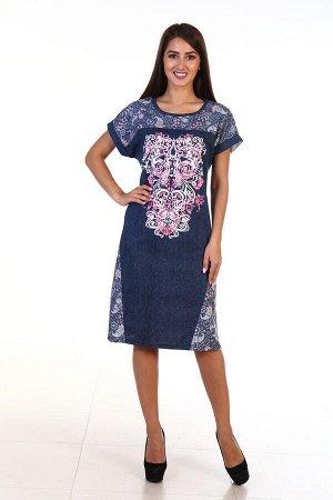 Платье женское 3-115 (розовый)