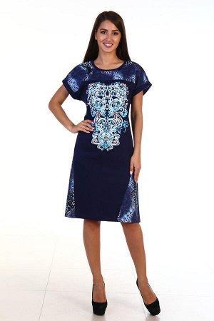 Платье женское 3-115а (голубой)