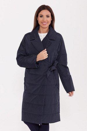 #74753 Пальто Темно-синий
