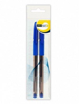 Ручка Office Point гелевая GS-655 0,5 мм 2шт/пб. черн., , шт