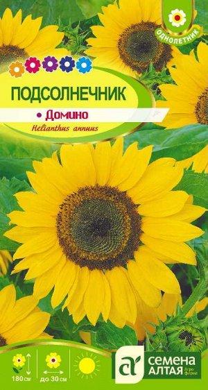 Цветы Подсолнечник Домино/Сем Алт/цп 0,5 гр.