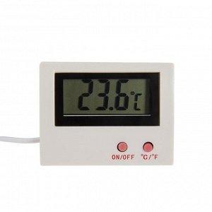 Термометр LTR-10. электронный. с уличным датчиком. белый