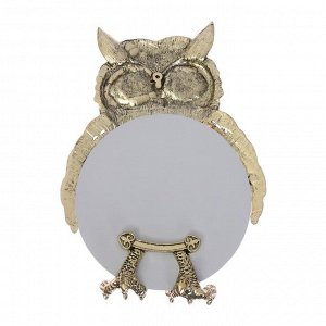 "Зеркало  ""Сова"" лат., 10,2 х 10,2 см"