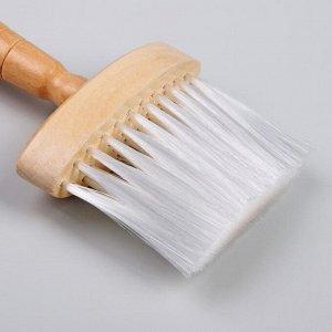 Щётка-сметка для удаления волос, цвет «светлое дерево»