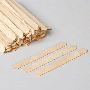 Шпатель для депиляции, деревянный, 14 ? 1,5 см