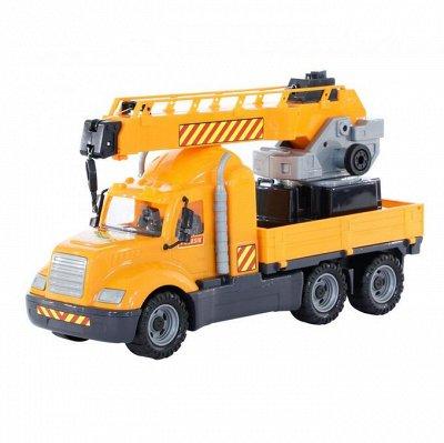Полесье. Любимые игрушки из пластика. Успеем до повышения — Серия Майк — Машины, железные дороги