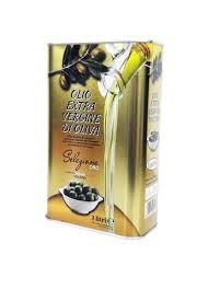 Масло оливковое Extra Virgine di oliva нерафинированное в ж.б.
