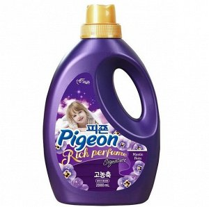 PIGEON Mistic Rain  Кондиционер для белья  (парфюмированный супер-концентрат с ароматом «Тайны дождя») 2000мл