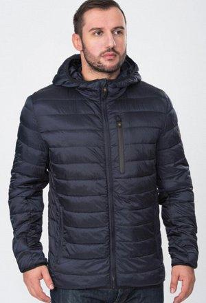 Пуховик Т-синий, зима Лёгкая укороченная стеганая куртка с капюшоном торговой марки VIZANI. Отличный вариант для городской жизни, удобна как для поездок на машине, так и для прогулок. В внешней сторон