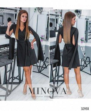 Платье №1258-черный