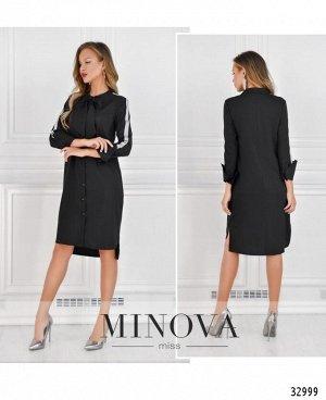 Платье №4082-черный
