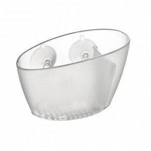 """""""CLEAN KIT"""" Емкость для губки для раковины 13,2х7х8,5см 4цв. 900630"""