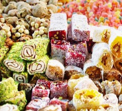 Вкусные сладости! Потрясающий зефир! Щербет! Нуга!  — Рахат-лукум — Восточные сладости