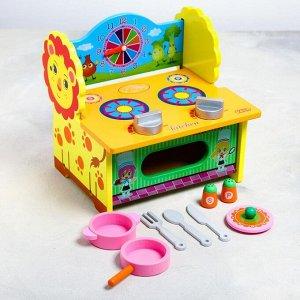 Игровой набор «Кухня-Львёнок» 27*21*7 см