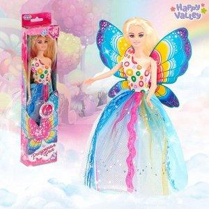 Кукла с крыльями «Радужная фея», гель с блёстками и стразы в наборе
