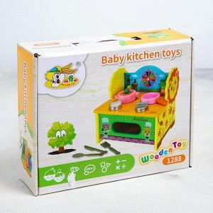 Игровой набор «Кухня-Жираф» 27*21*7 см