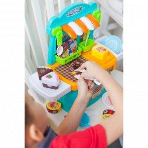 Игровой модуль кухня «Сладкоежка», с продуктами для резки