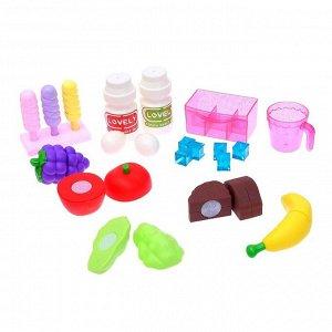 Игровой набор «Весёлая кухня» в чемодане, со световыми и звуковыми эффектами