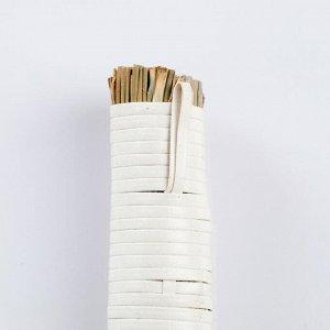 Метёлочка, 25 см, сорго, бамбук
