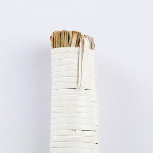 Метёлочка, 17 см, сорго, бамбук