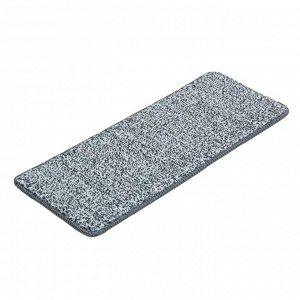 Насадка для плоской швабры 31?10 см, микрофибра цвет серый
