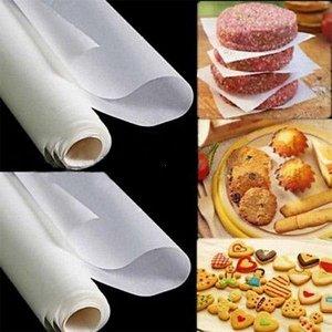 Бумага для выпечки силиконизированная белая 380мм/50метров