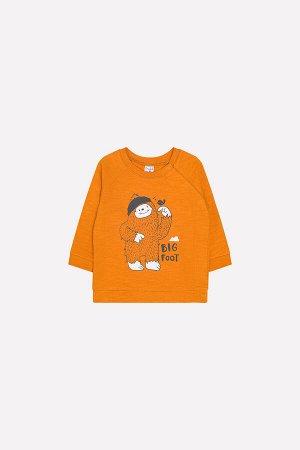Джемпер для мальчика Crockid К 300724 оранжевый