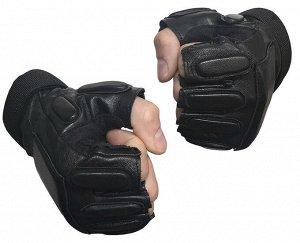 Кожаные тактические перчатки спецназа - Профессиональные кожаные тактические перчатки спецназа без пальцев. Модель, проверенная годами использования в спецподразделениях в боевых условиях. Также подой