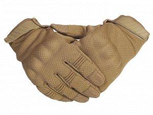 """Перчатки Кевларовые перчатки термостойкие - надежные тактические перчатки в цвете """"койот"""" №16"""