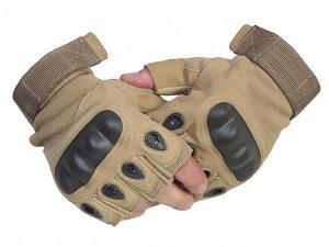 Перчатки Тактические беспалые перчатки  №1 Классическая модель военных защитных перчаток. Выбор профессионалов, побывавших в горячих точках
