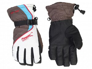 Горнолыжные перчатки Aqua-Trail – фиксатор запястья, усиленные ладони, стильный дизайн