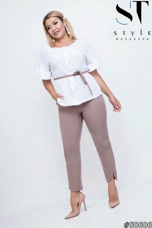 Костюм 50606 (блузка+брюки)
