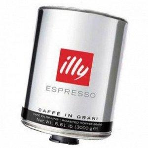 Кофе в зернах Illy 3 кг dark темной обжарки