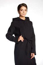 Пальто 20260  (черный )