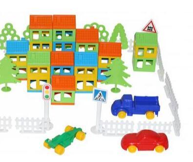 Полесье. Любимые игрушки из пластика. Успеем до повышения — Конструктор Построй свой город — Конструкторы и пазлы