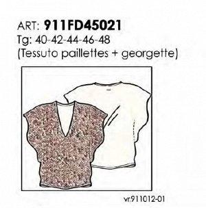 GAUDI Италия 2020 блуза с пайетками