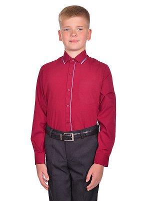 Рубашка - бордовый цвет
