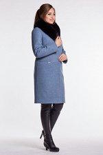 Пальто зимнее 20540Т БЕЗ МЕХА  (маренго)