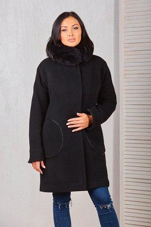 Пальто женское  17500-000Ут. (черный)