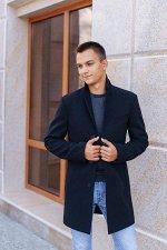 Пальто мужское 2100  (черный)